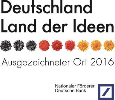 Logo Deutschland Land der Ideen – Ausgezeichneter Ort 2016